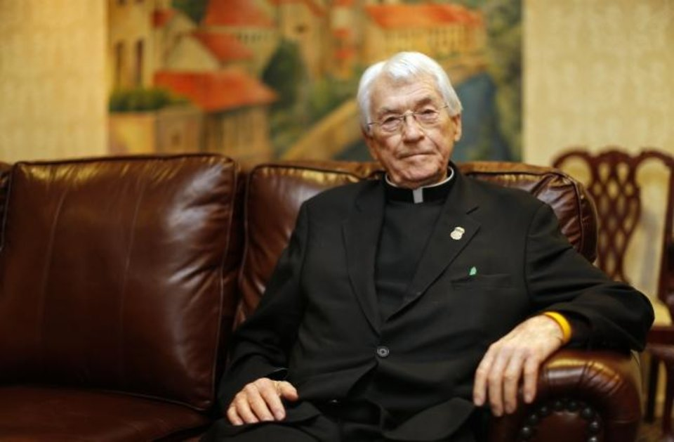 Photo -  Former priest Marvin Leven poses for a photo in 2013 in Oklahoma City. [SARAH PHIPPS/THE OKLAHOMAN]