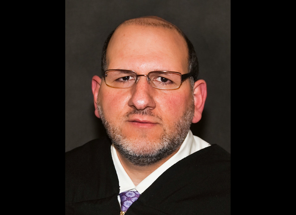 Photo - This photo provided by the Judicial Branch of the state of Colorado shows 18th Judicial District Judge Carlos Armando Samour Jr. On Monday, April 1, 2013, District Judge William Sylvester named Samour to take over the case of Aurora, Colo., theater shooting suspect James Holmes. As chief judge for the district, Sylvester is responsible for the overall running of the court and said he couldn't do that and also oversee a complicated death penalty case. (AP Photo/State of Colorado Judicial Branch)
