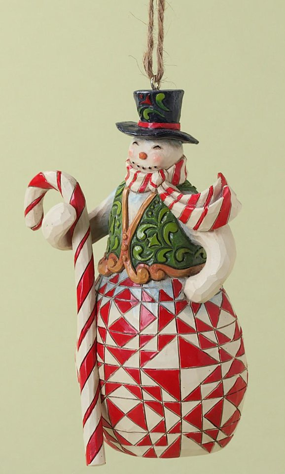Jim Shore snowman figurine.