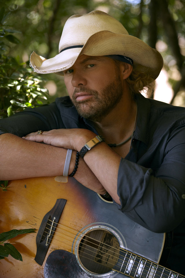 Country star Toby Keith
