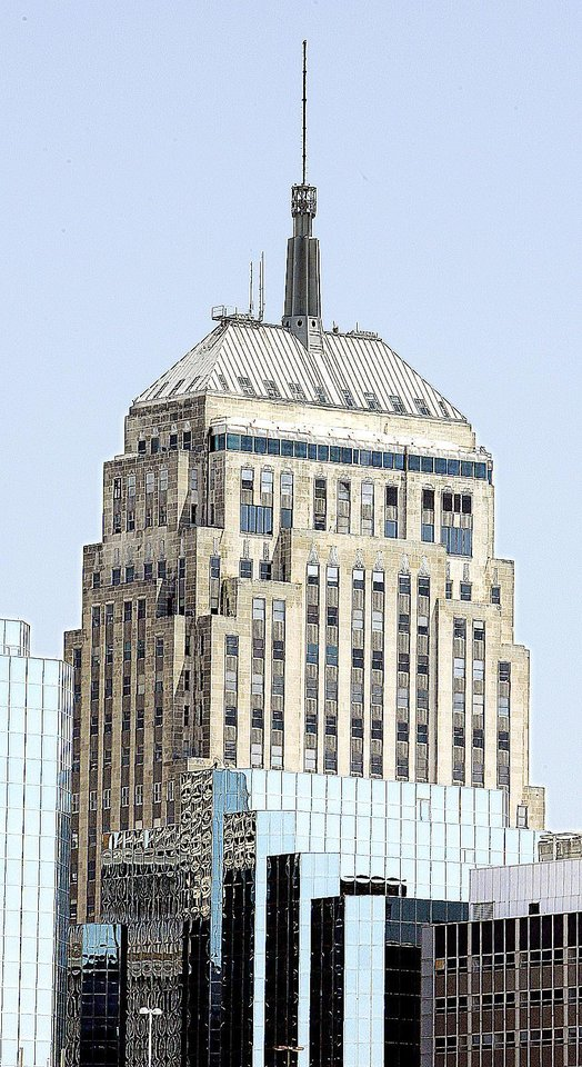 The First National Center, 120 N Robinson, in downtown Oklahoma City is shown. Photo By Paul B. Southerland, The Oklahoman