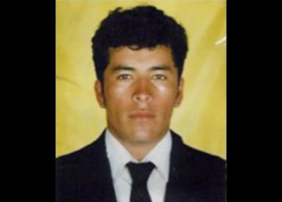 Photo -   This undated photo released by Mexico's Attorney General's Office shows alleged Zeta drug cartel leader and founder Heriberto Lazcano Lazcano in an unknown location. Mexico's Navy says fingerprints confirm that cartel leader Lazcano, an army special forces deserter whose brutal paramilitary tactics helped define the devastating six-year war among Mexico's drug gangs and authorities, was killed Sunday, Oct. 7, 2012 in a firefight with marines in the northern state of Coahuila on the border with the Texas. (AP Photo/Mexico Attorney General's Office)