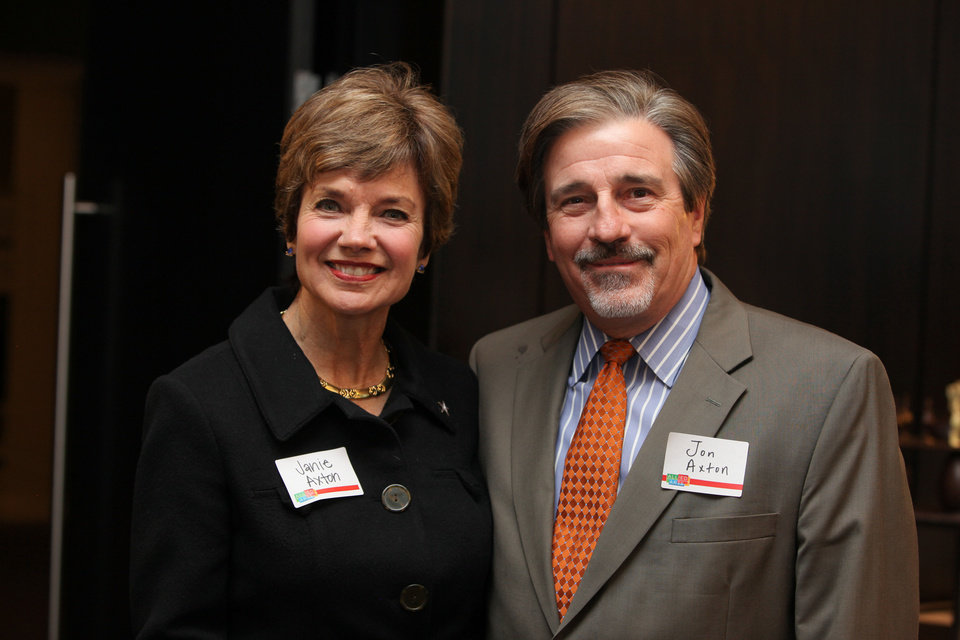 Janie and Jon Axton. Photo provided  <strong></strong>