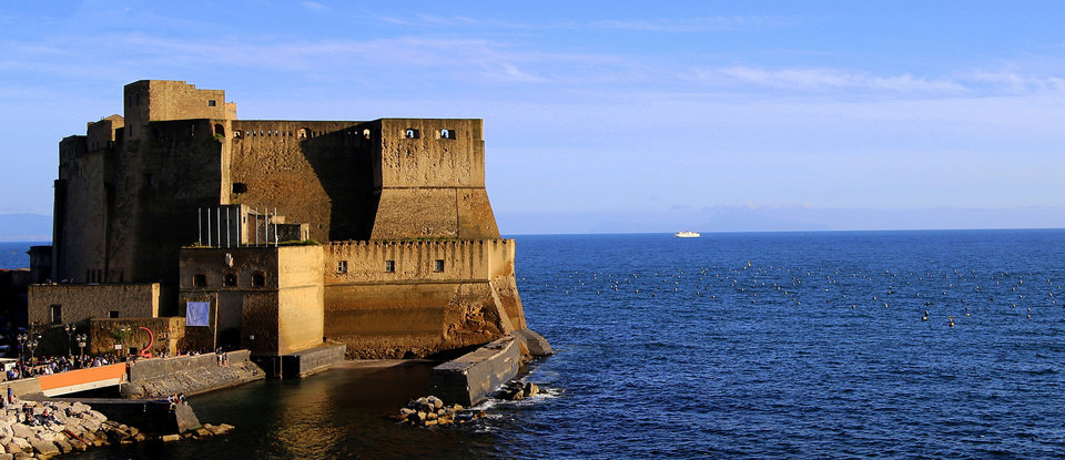 Photo - This May 1, 2014 photo shows a view of Castel dell' Ovo at sunset in Naples, Italy. This well-known landmark on the Bay of Naples is one of the places you can visit for free in Italy's third-largest city. (AP Photo/Michelle Locke)