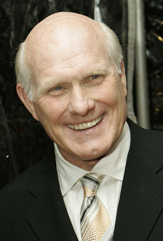 Photo - Terry Bradshaw, former quarterback of the Pittsburgh Steelers.  STUART RAMSON - AP