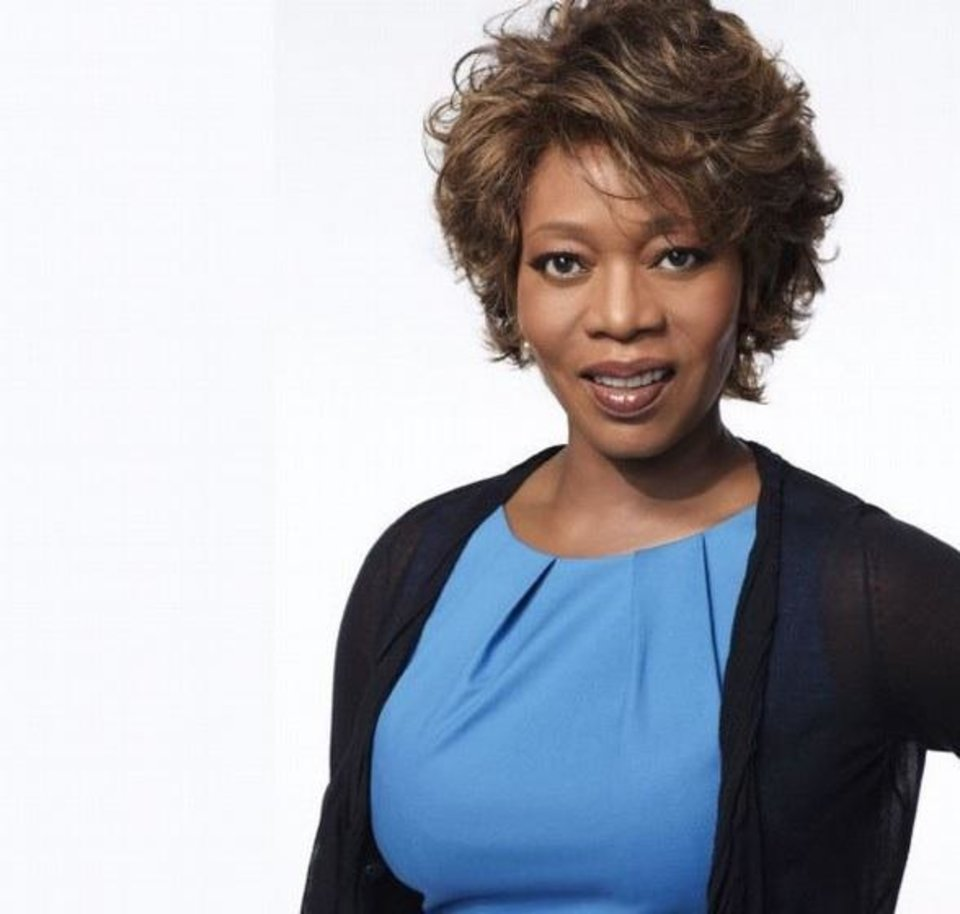 """Photo -  Alfre Woodard Tulsa native Alfre Woodard's work as an actor has earned her an Oscar nomination, four Emmy Awards, 17 Emmy nominations, three Screen Actors Guild Awards and a Golden Globe Award. Her most recent Emmy nominations were for outstanding supporting actress in the Lifetime remake of """"Steel Magnolias"""" and for outstanding guest actress in a drama series on HBO's """"True Blood."""""""