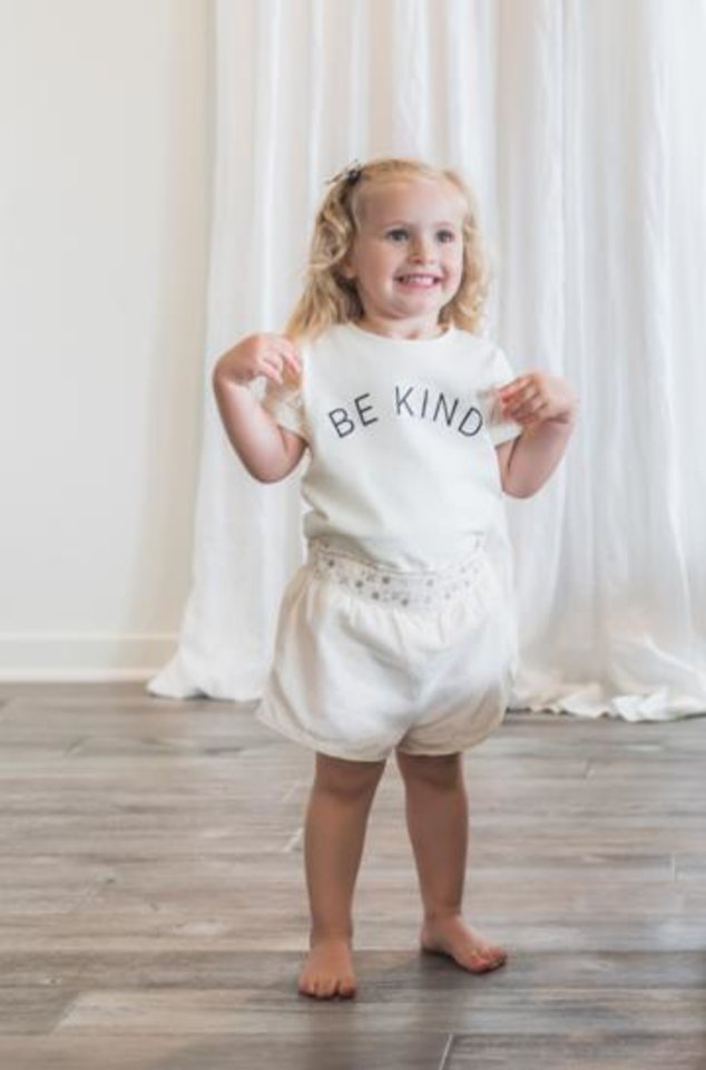Photo - Be Kind child's T-shirt.