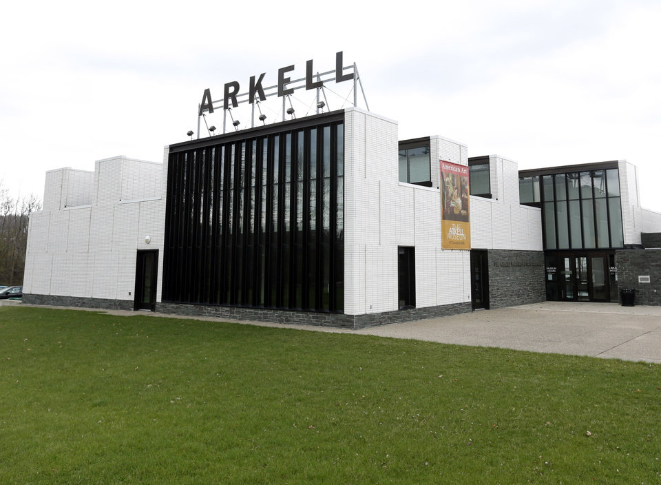 Photo - This May 2, 2014 photo shows the Arkell Museum in Canajoharie, N.Y. The museum, started in 1928 by Bartlett Arkell, founder of the Beech-Nut food company, is located next door to company's former plant in Canajoharie, population 2,200. (AP Photo/Mike Groll)