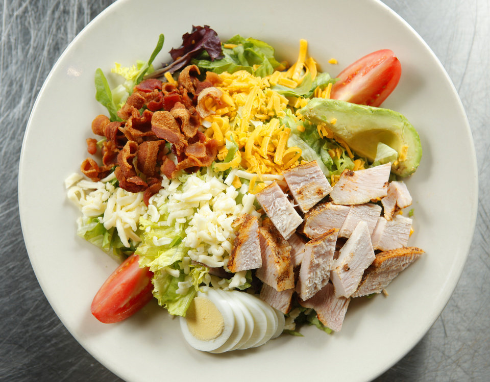 Urban BBQ's version of the Cobb Salad in Oklahoam City, Friday, Feb. 17, 2012. Photo by Bryan Terry, The Oklahoman