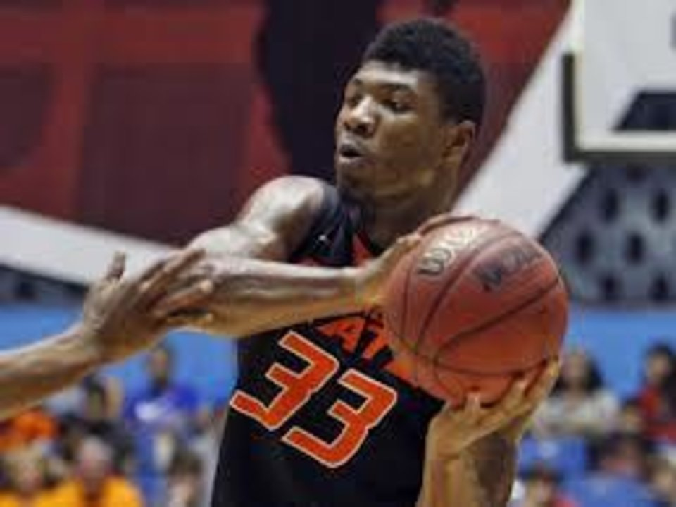 Marcus Smart has K-State coach Bruce Weber\'s attention.