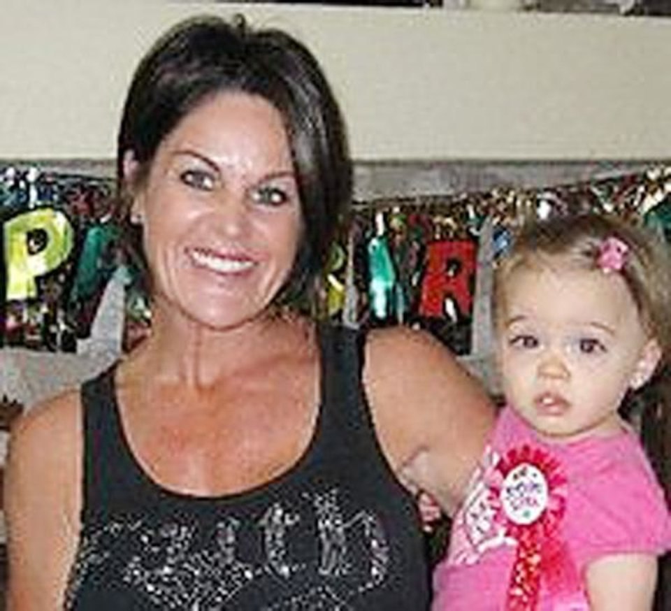 Photo - Julie Mitchell and her daughter London  Provided