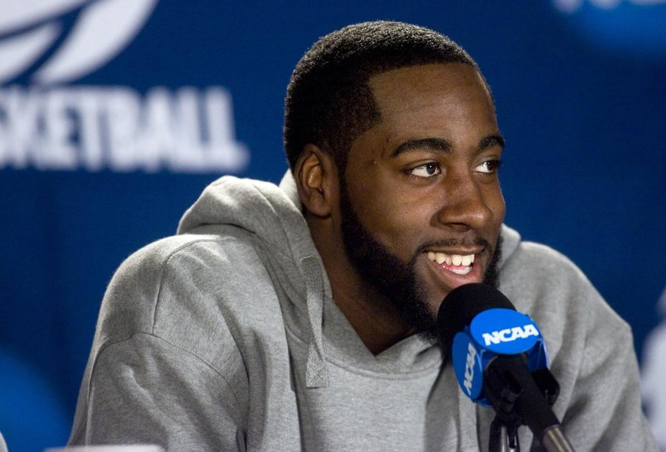 James Harden was the Pac-10 Player of the Year and a consensus All-American last season at Arizona State. His former high school and college coach think he\'s a perfect fit for the Oklahoma City Thunder. Arizona Republic photo by Deirdre Hamill