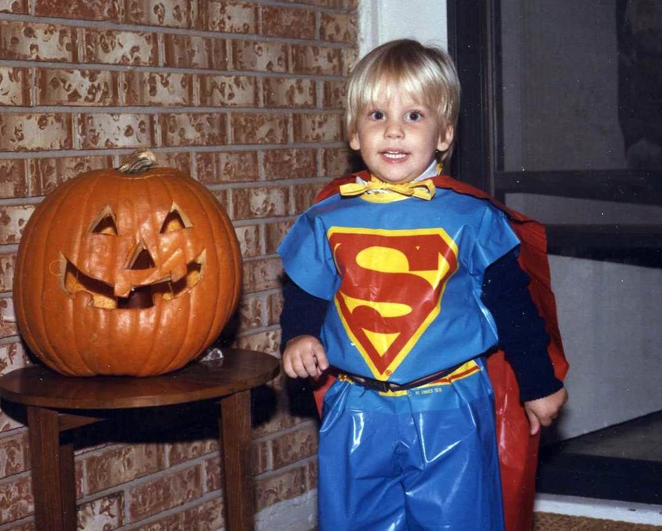 Michael Behenna in a halloween around 1987. Photo provided by the Behenna Family