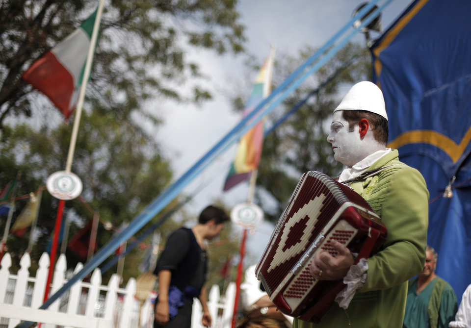 at the Oklahoma State Fair, Sunday, Sept. 23, 2012.  Photo by Garett Fisbeck, The Oklahoman
