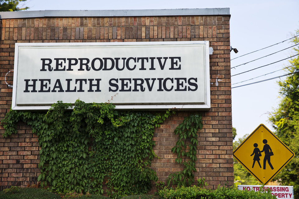 Photo - In this Wednesday, July 30, 2014 photo, Reproductive Health Services is shown, in Montgomery, Ala. Reproductive Health Services is the only abortion clinic in Montgomery and an Alabama law restricting doctors at abortion clinics was ruled unconstitutional because it would unduly hamper women's ability to obtain the medical procedure, a judge said Monday, Aug. 4, 2014. (AP Photo/Brynn Anderson)