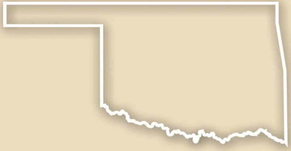 Photo - State of Oklahoma MAP / GRAPHIC