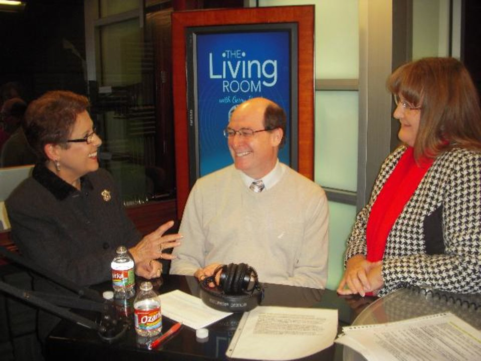 Photo -  From left, Gerry Bonds is shown with Rheal Towner and Judith James. - Provided Photo
