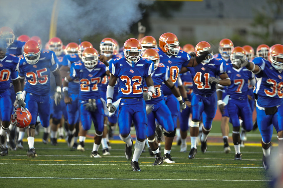 Photo - Savannah State University verses Howard University in Savannah, Ga., Saturday, Oct. 1, 2011. (Photo by Stephen Morton)