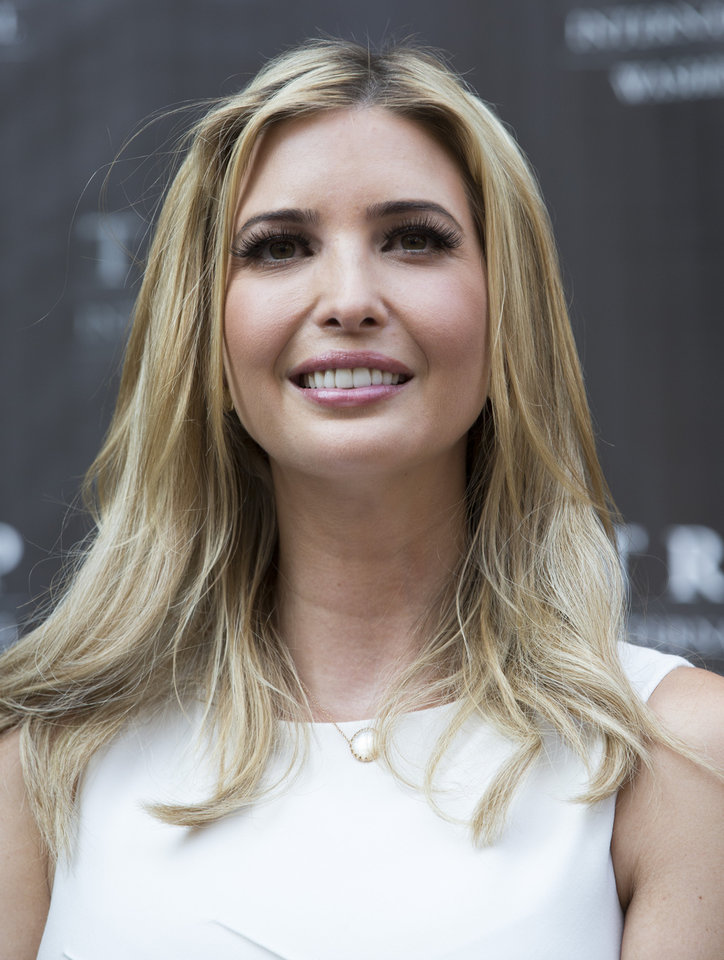 Photo - Ivanka Trump smiles during a ground breaking ceremony for the Trump International Hotel on the site of the Old Post Office in Washington, Wednesday, July 23, 2014. (AP Photo)