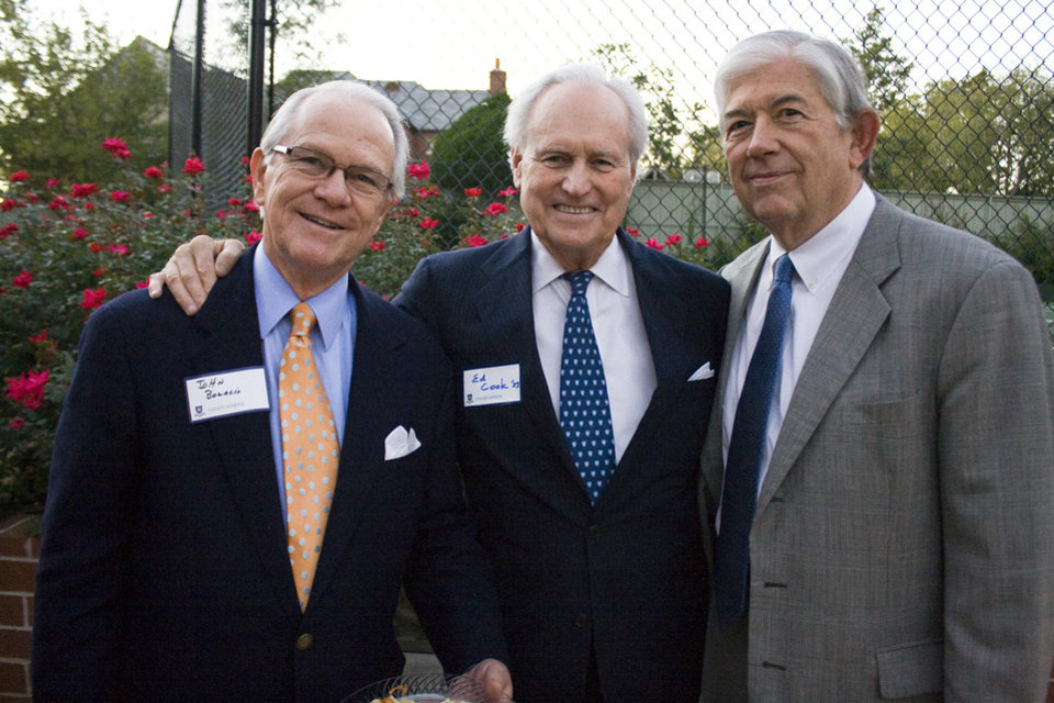 Photo - John Bozalis, Ed Cook, Frank Hill. PHOTO PROVIDED  unknown