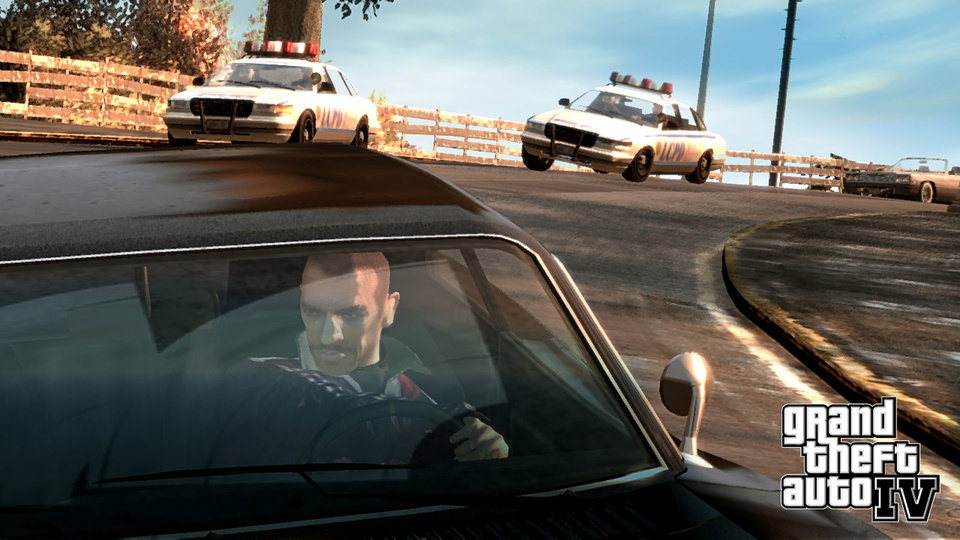 "Photo - **FILE** In this file  photo released by Rockstar Games shows a scene from Grand Theft Auto IV. The violence and profanity are still over the top, but protagonist Niko Bellic is a little more grounded than your typical ""GTA"" lead. He's a thug you can care about. (AP Photo/Rockstar Games,File)**NO SALES** ORG XMIT: NYYE615"