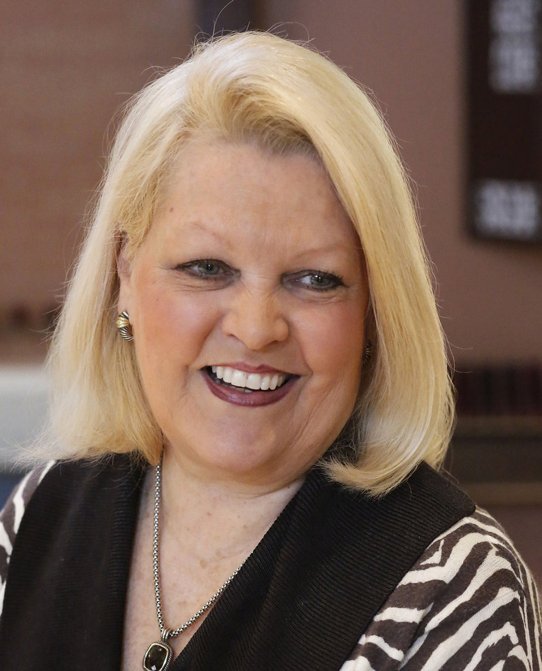 Anne Codding, principal at St. James Catholic School. Photo By Jim Beckel, The Oklahoman  <strong>Jim Beckel - THE OKLAHOMAN</strong>