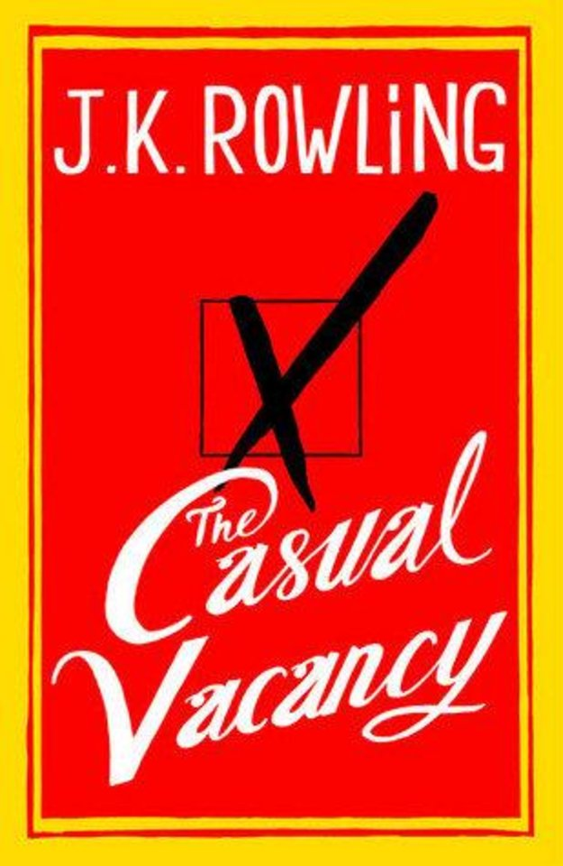Photo - J.K. Rowling's book The Casual Vacancy.