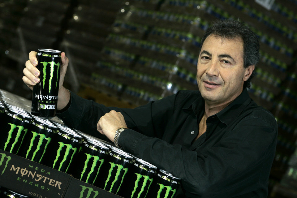 Photo - In this Nov. 10, 2005 photo, Rodney Sacks, CEO of Monster Beverage, poses for a photo in Corona, Calif. Sacks earned $6.22 million in 2013, a near seven-fold increase. (AP Photo/Los Angeles Times, Ifran Khan)  NO FORNS; NO SALES; MAGS OUT; ORANGE COUNTY REGISTER OUT; LOS ANGELES DAILY NEWS OUT; VENTURA COUNTY STAR OUT; INLAND VALLEY DAILY BULLETIN OUT; MANDATORY CREDIT, TV OUT