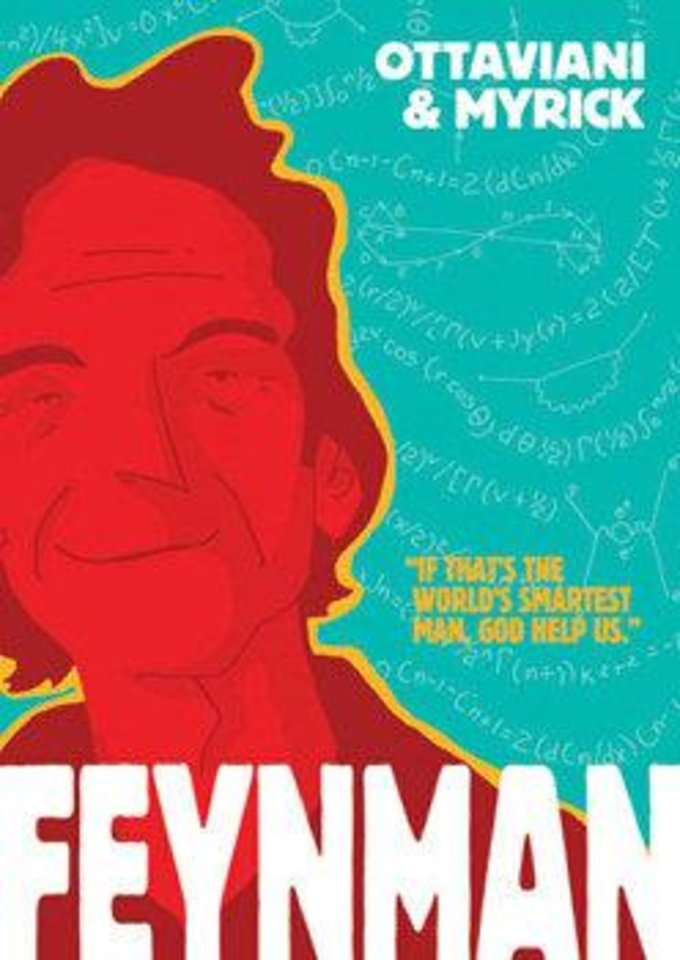 "The cover to �Feynman."" First Second photo"