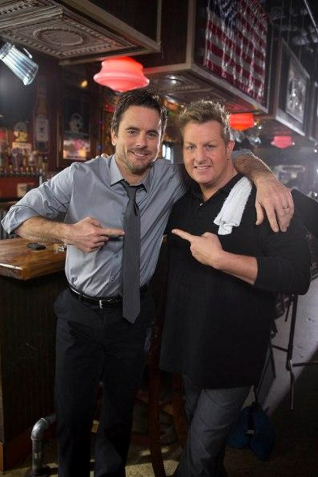 """Nashville"" actor Chip Esten and Rascal Flatts lead singer Gary LeVox"