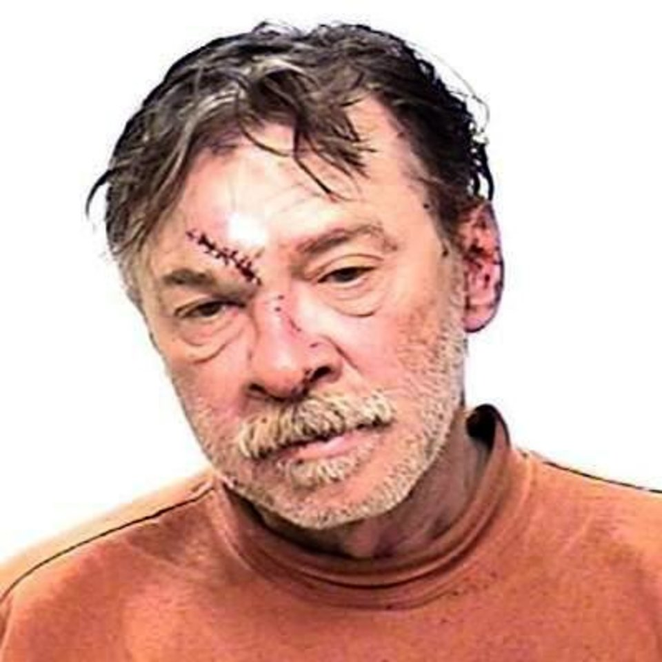 This photo provided by the Grand Traverse County Sheriff's Department in Traverse City, Mich., shows Anthony Ciccone, 56, brother of singer Madonna, who was arrested Sunday, April 21, 2013, on charges of resisting arrest on a trespassing warrant when he refused to leave the bathroom at the Grand Traverse County Civic Center. Police say an officer tried to arrest Ciccone on an outstanding warrant for trespass. He confronted the officer, who brought him to the ground. Ciccone\'s face hit the floor and he required stitches. (AP Photo/Grand Traverse County Sheriff's Department)