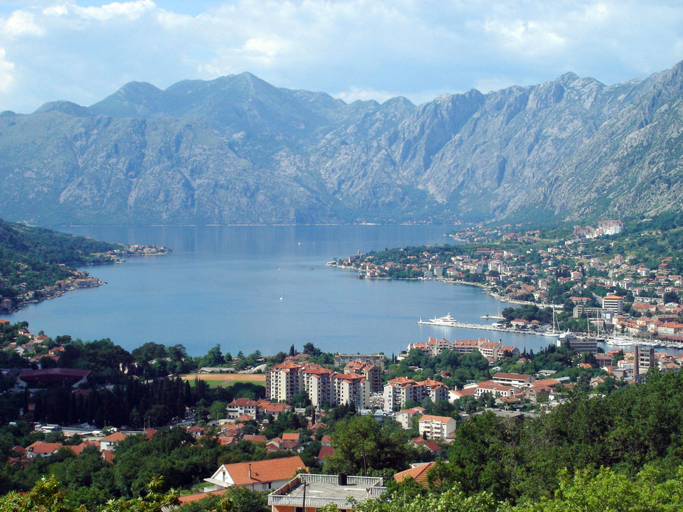 Photo - Montenegro?s Bay of Kotor is a becoming a popular travel destination.    Photo by Cameron Hewitt  Photo by Cameron Hewitt