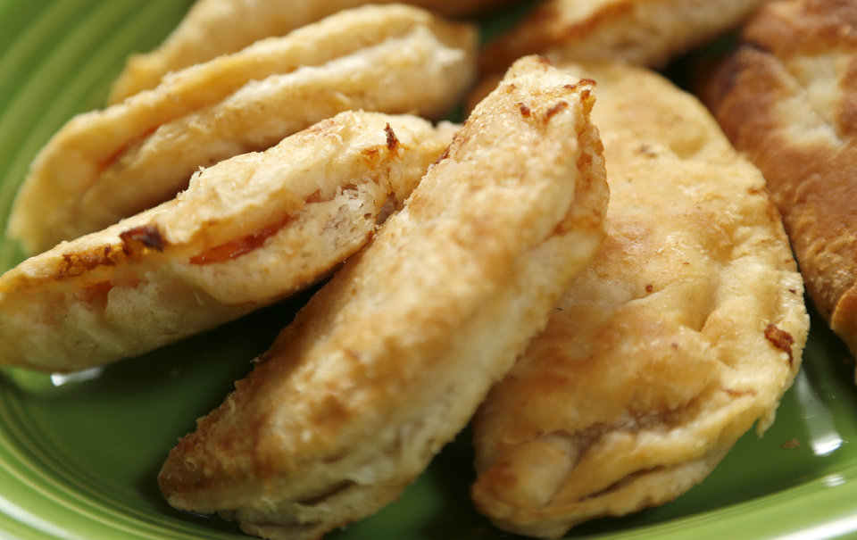 Fried peach pies in Oklahoma City, Tuesday, July 17, 2012. Photo by Bryan Terry, The Oklahoman