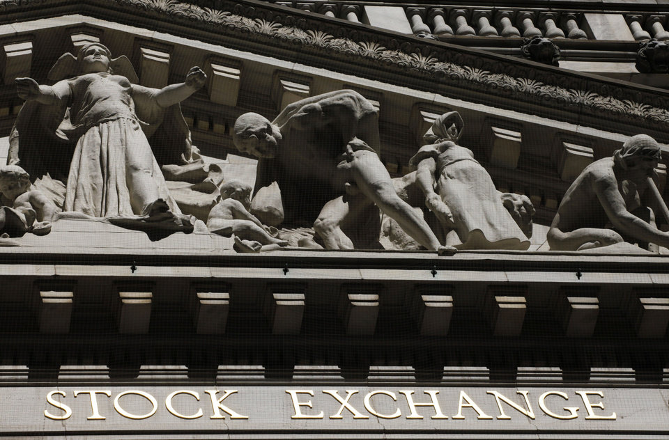 Photo - FILE - This July 15, 2013 file photo shows the New York Stock Exchange in New York. Stock futures are climbing on Monday, July 14, 2014, as investors look to shake off the worst week for the stock market in three months. Citigroup's shares rose after it turned in better earnings and revenue than Wall Street expected. (AP Photo/Mark Lennihan, File)