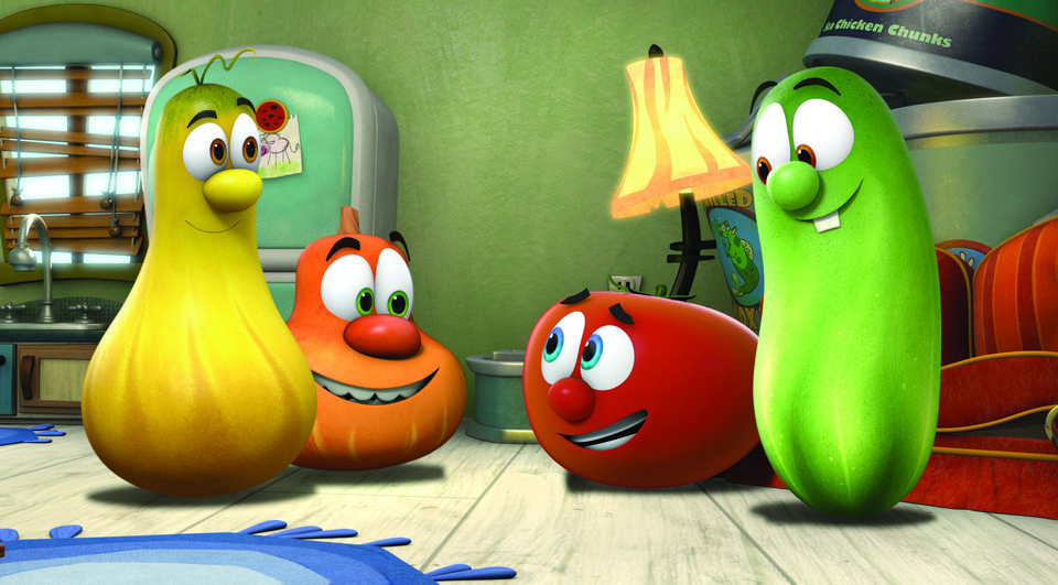Veggie Tales Larry The Cucumber And Bob The Tomato