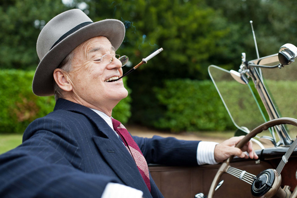 This film image released by Focus Features shows Bill Murray as Franklin D. Roosevelt in a scene from