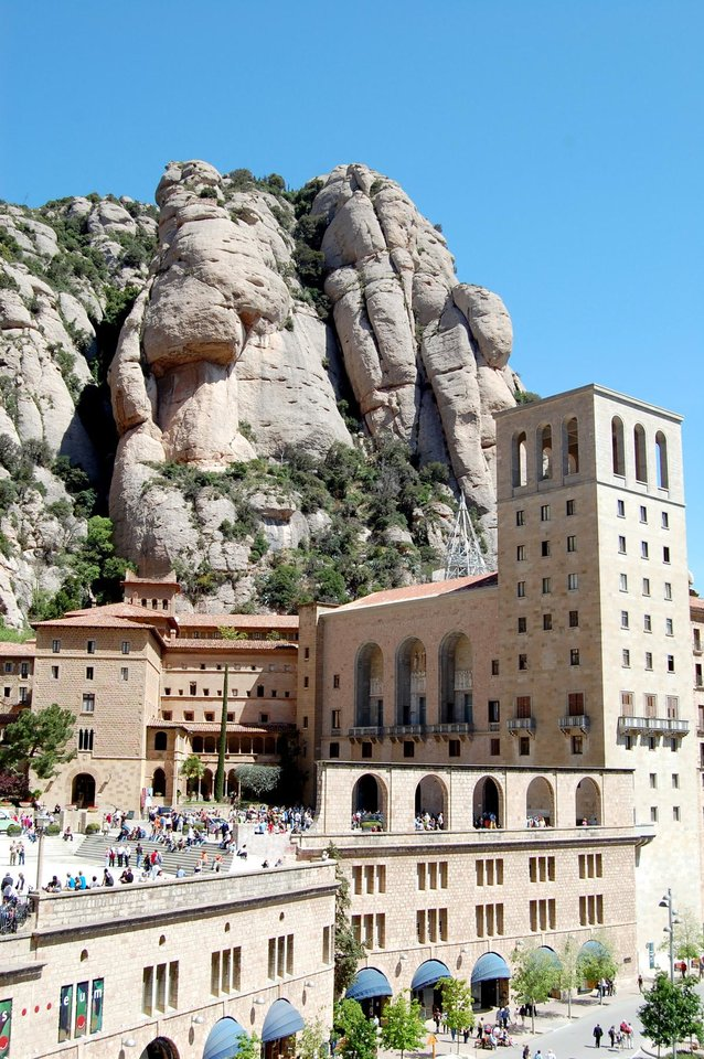 The rock pillars of Montserrat are home to a Benedictine monastery as well as hiking trails. (Photo by Cameron Hewitt)