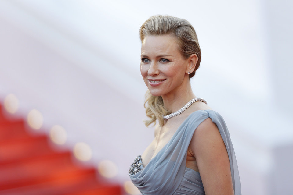 Photo - Actress Naomi Watts poses for photographers as she arrives for the screening of How to Train Your Dragon 2 at the 67th international film festival, Cannes, southern France, Friday, May 16, 2014. (AP Photo/Thibault Camus)