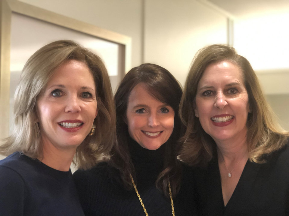 Photo -  Cindy Riesen, Maria Abbott, Leslie Tucker.