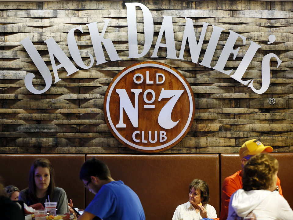 Photo - The inside of Jack Daniels Old No. 7 Club before an NBA basketball game between the Oklahoma City Thunder and the Milwaukee Bucks at Chesapeake Energy in Oklahoma City, Wednesday, April 17, 2013. Photo by Nate Billings, The Oklahoman