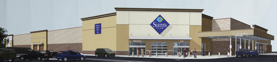 Photo - Sam's Club is looking to build a new store in Edmond, just north of the Walmart Supercenter at 15th Street and Interstate 35.