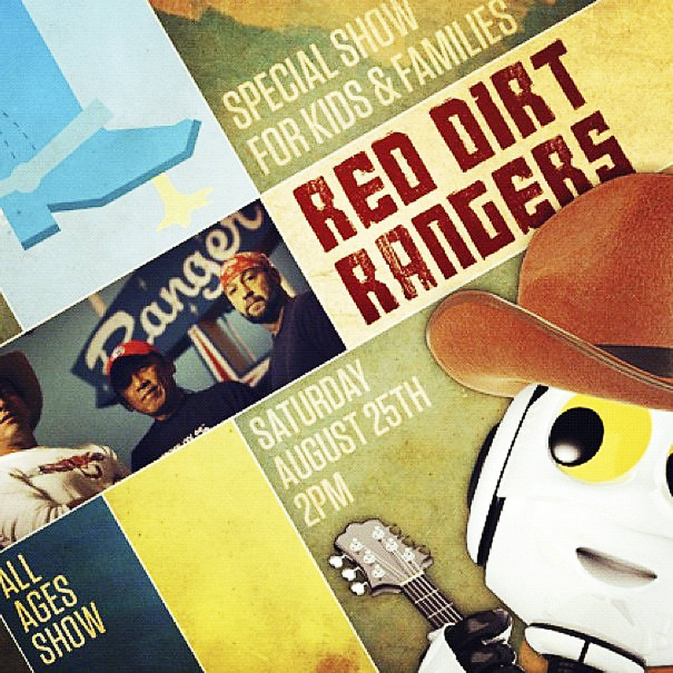 Photo - Poster for Red Dirt Rangers. IMAGE PROVIDED