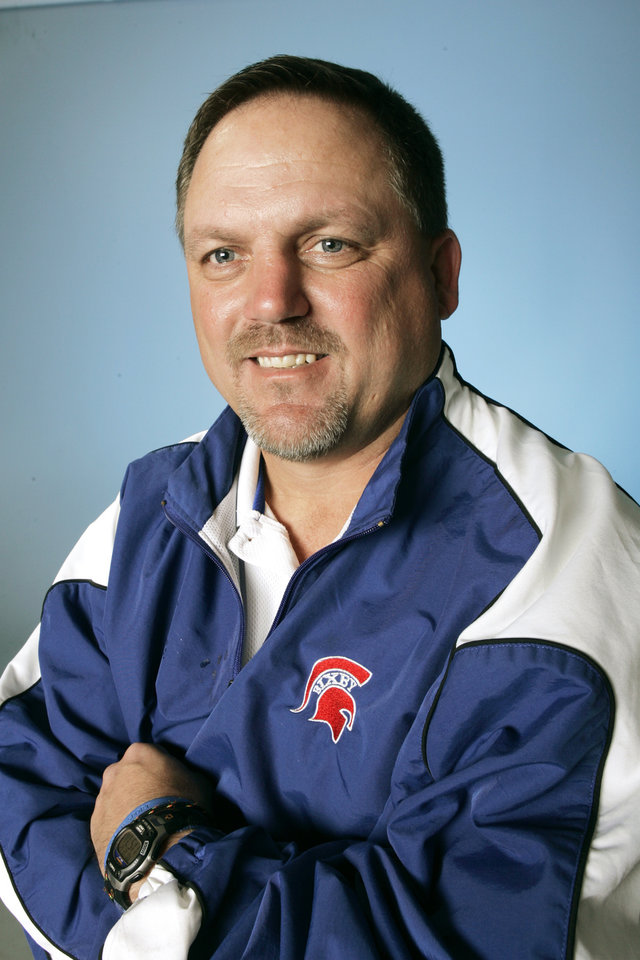 The Oklahoman All State high school football team for 2005. Coach of the Year, Patrick McGrew, Bixby.  12/12/05  Doug Hoke /The Oklahoman