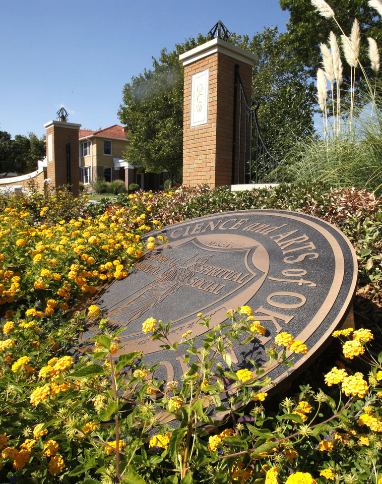 Entry to the University of Science and Arts of Oklahoma (USAO) on Thursday, October 6, 2011, in Chickasha, Okla.   Photo by Steve Sisney, The Oklahoman ORG XMIT: KOD