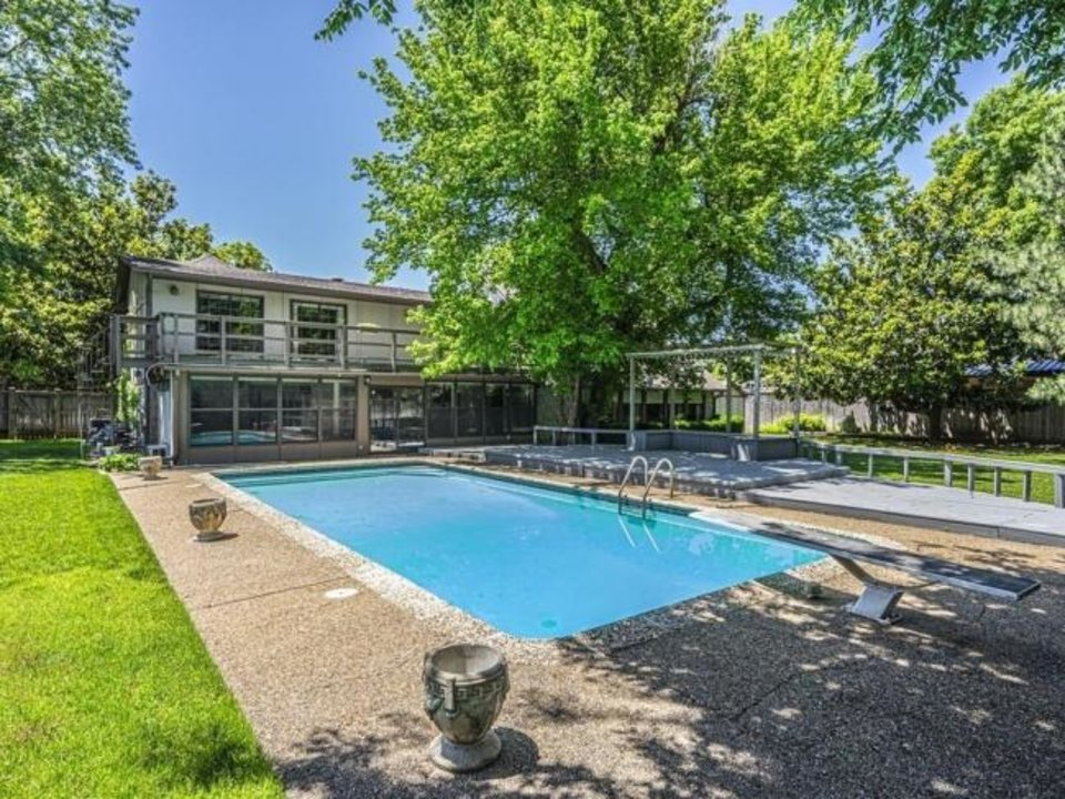 Photo -  Backyard view of the Listing of the Week, 3805 NW 44. [PHOTO PROVIDED]