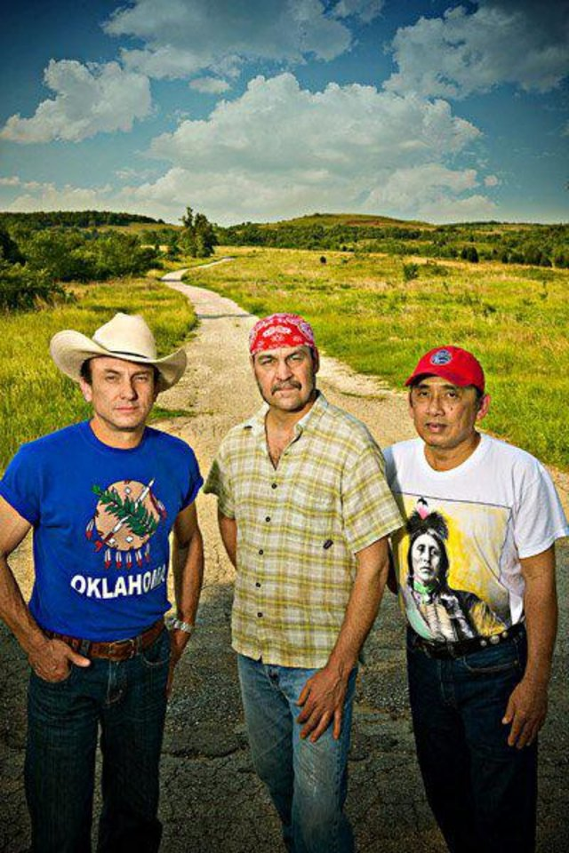 The Red Dirt Rangers will give two free performances Sunday at the Oklahoma City Museum of Art\'s Family Day. Photo provided.