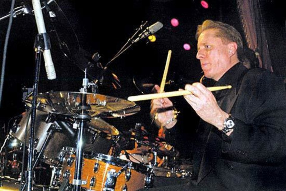 Tulsa-bred drummer Jamie Oldaker played with Eric Clapton from 1974-80 and 1983-86. Oklahoma Music Hall of Fame photo <strong></strong>