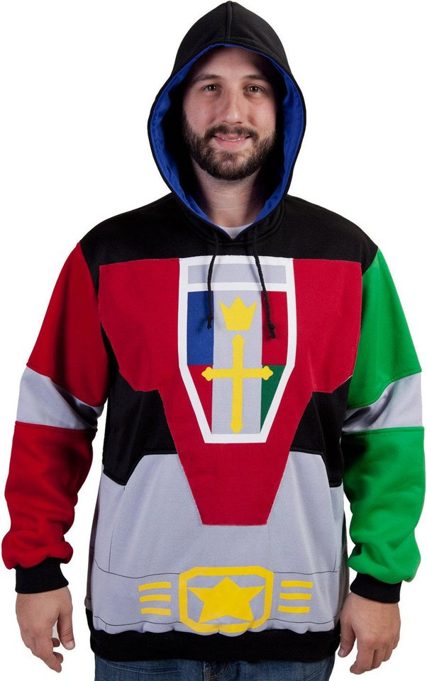 "Photo -  Chad in the ""Voltron"" hoodie."