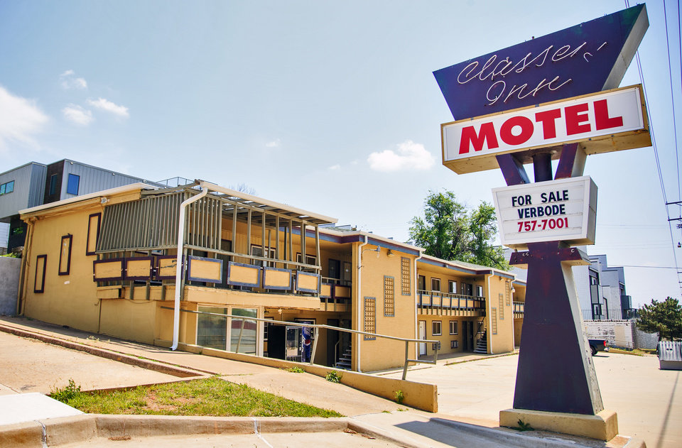 Photo -  The Classen Inn located at 820 N Classen was purchased earlier this year by Aimee Ahpeatone and Steve Mason and is set to reopen as a