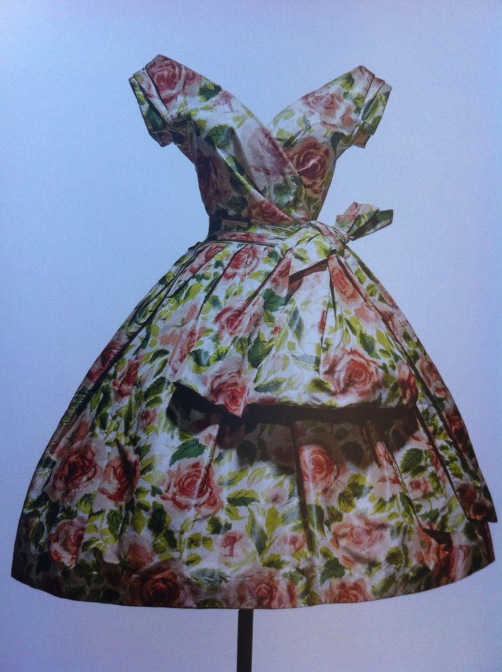 Photo -  Many of Christian Dior's fashion designs were inspired by the floral paintings of the Impressionists. Photo courtesy of Patricia Woeber.
